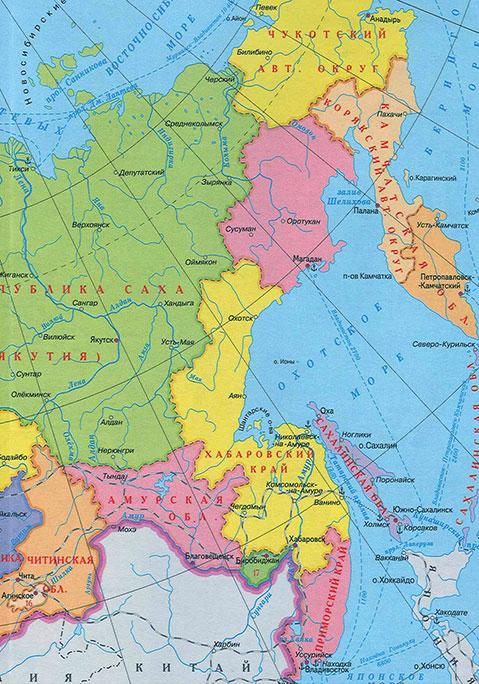 нескольких карта дальнего востока картинки изготовить полиуретановый